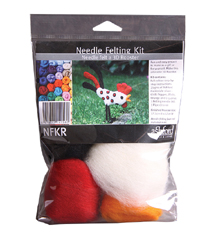 ashford needle felting kit for beginners