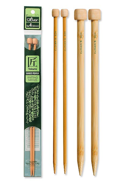 Clover Bamboo Knitting Needles - Circular Takumi Knitting Needles