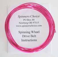 rose spinning wheel belt