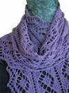 Fiber Dreams Diamanten Scarf Knitting Patterns