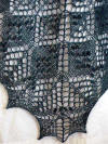 Fiber Dreams Tilia Shawl Knitting Pattern detail