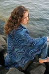 Showlwater Shawl knitting pattern - Fiber Trends Knitting Patterns