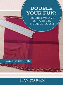 doubleweave weaving instructions for rigid heddle looms