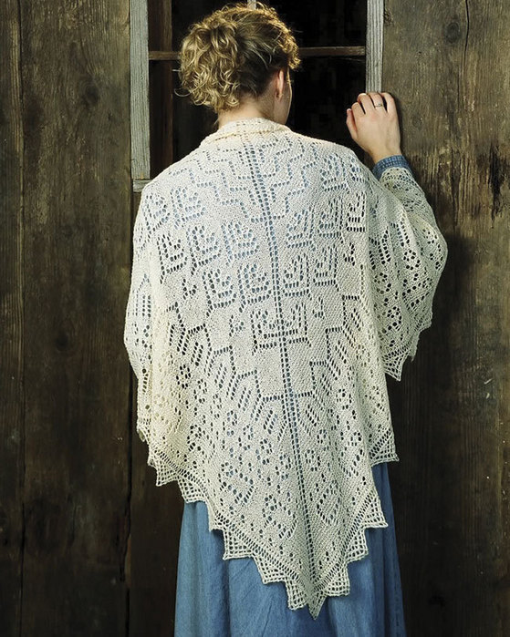 Lace Knitting Patterns - Knitted Lace Shawls and Scarves
