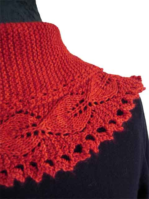 spanish dancer knitting pattern detail