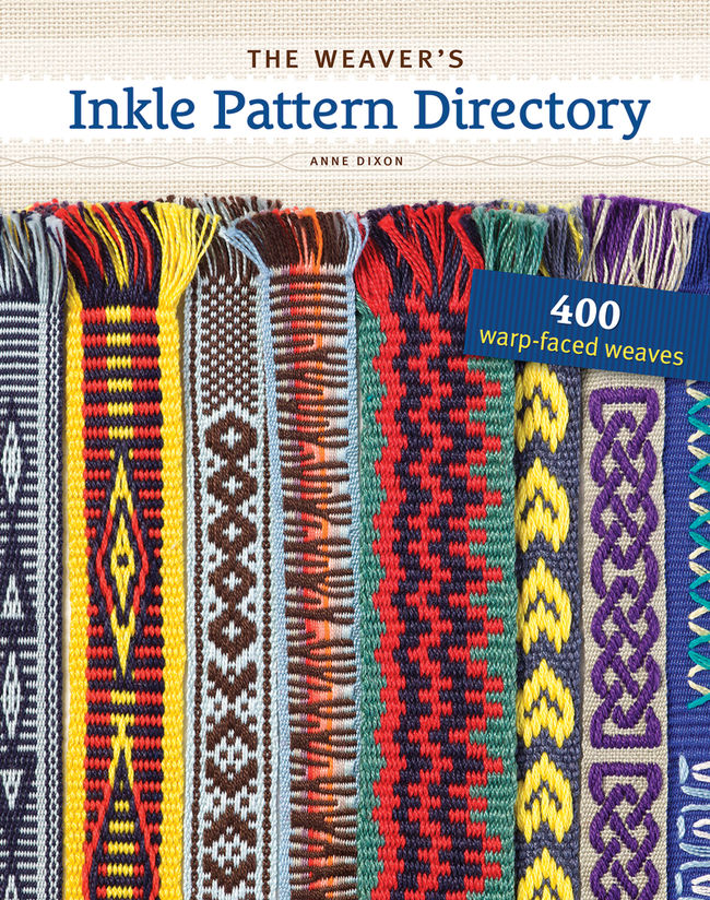 the weavers inkle pattern directory cover
