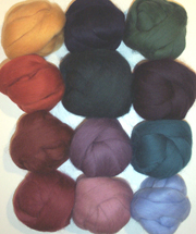 ashford felting set corriedale wool