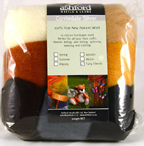 ashford wool fibers for felting