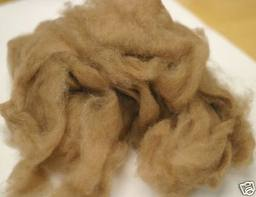 camel down fiber for spinning