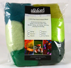 ashford felting wool pack summer