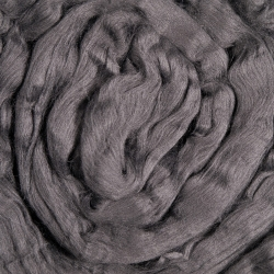carbonized bamboo fiber for spinning
