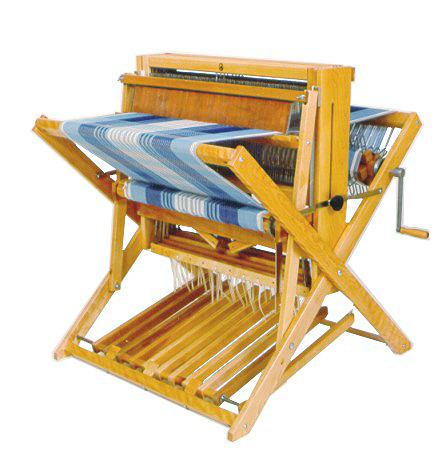 leclerc compact weaving loom with warp