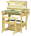 eight harness Louet david 2 loom with bench