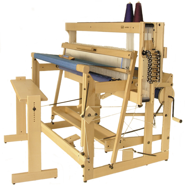 louet octado loom with bench