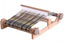 ashford rigid heddle loom with weaving