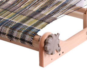 ashford rigid heddle loom detail