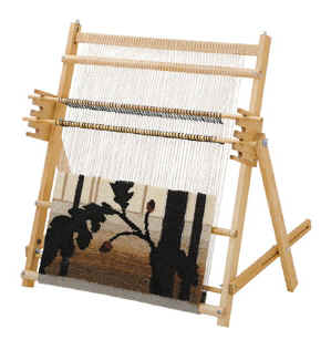 schacht tapestry loom with stand