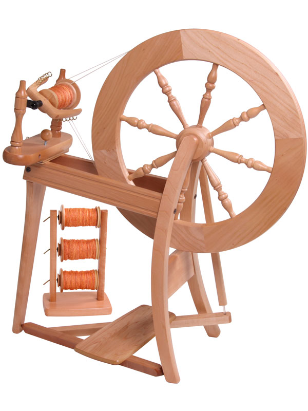 ashford traditional spinning wheel pacific wool and fiber. Black Bedroom Furniture Sets. Home Design Ideas
