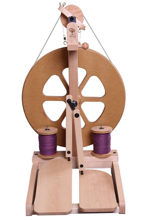 ashford kiwi spinning wheel with lazy kate