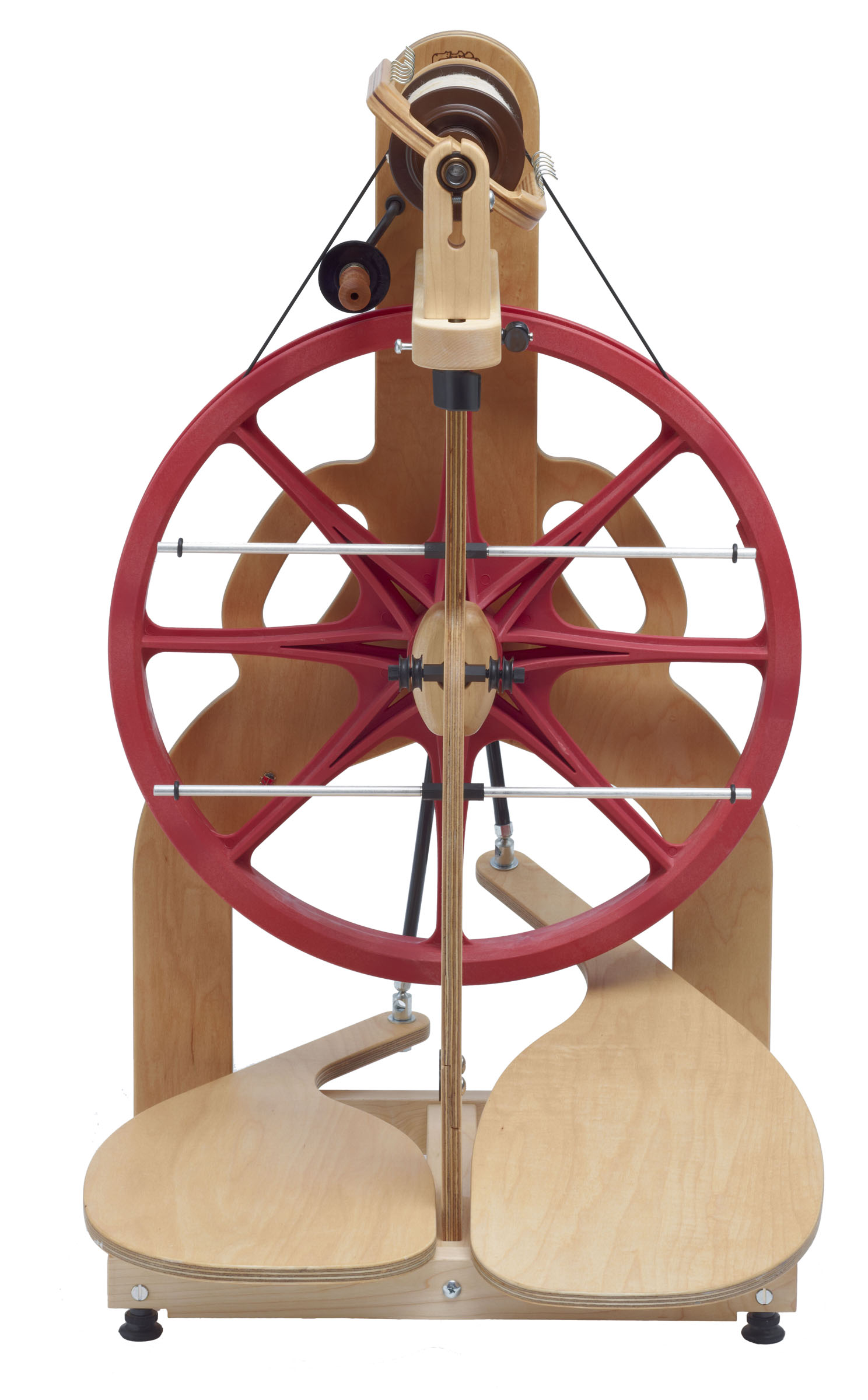 ladybug spinning wheel with lazy kate