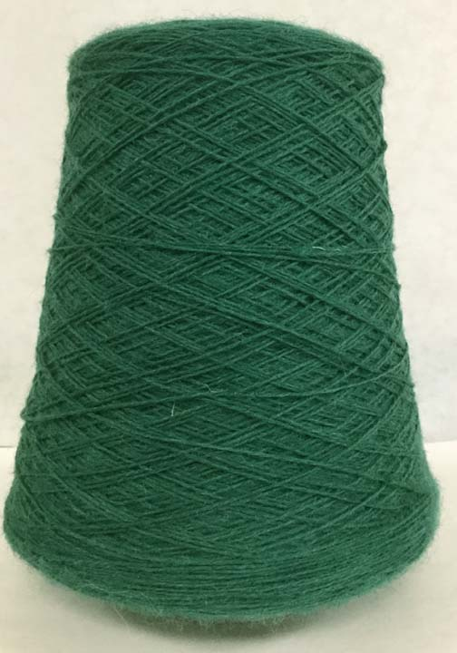 worsted spun wool weaving yarn on cones