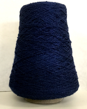 rayon boucle weaving yarn in three colors