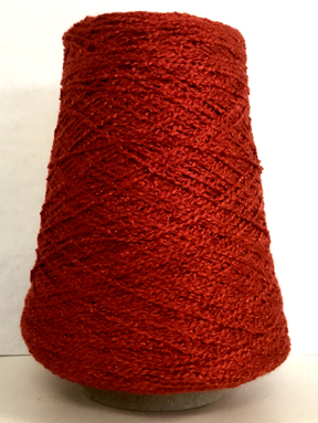 rayon boucle yarn on cones